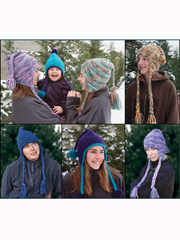 Snowboarder Hats for Everyone Knit Pattern