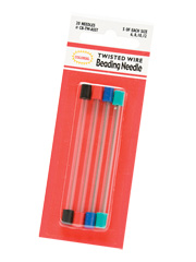 Twisted Wire Beading Needle