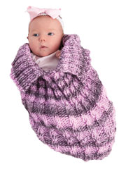 Knitted Papoose Snuggle Bug Pattern Pack Knit Pattern