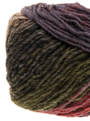 Noro Kureyon Yarn in Rust, Olive, Black