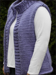 Plus Size Winter Vest Knit Pattern