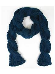 Twist Scarf Knit Pattern