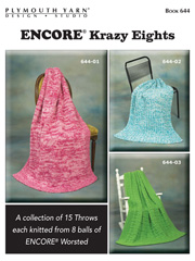 Encore� Krazy Eights Knit Pattern