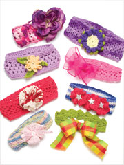 Knit & Crochet Baby Headbands #2