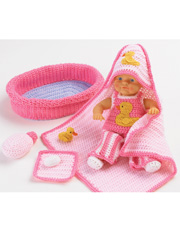 Baby Doll Bath Set Pattern Pack