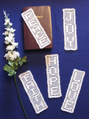 Inspirational Filet Bookmarks