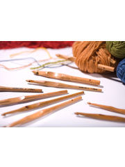 "Laurel Hill 6"" Trai Crochet Hook"