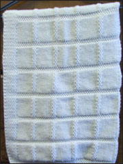 Baby's First Blanket Knit Pattern