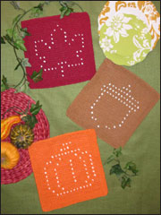 Autumn Days Knit Dishcloths