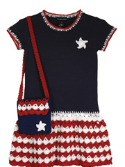 Patriotic T-shirt Dress & Purse Pattern Pack
