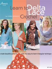 Learn to Delta Lace Crochet