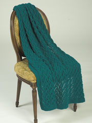 Lattice Throw Knit Pattern
