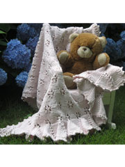 Butterfly Blankie Knit Pattern