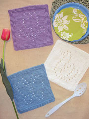 Spring Days Knit Dishcloths Knit Pattern