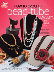 How to Crochet Bead-Tube Jewelry