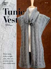 Tunic  Vest Knit Pattern