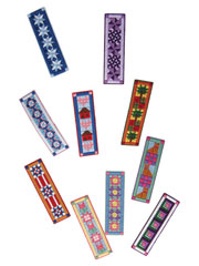 Plastic Canvas Quilt Bookmarks Pattern Pack