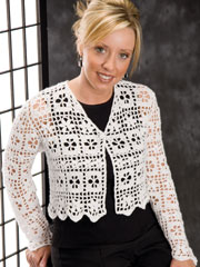Cropped Cardigans Crochet Pattern