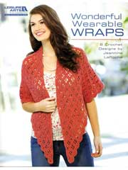 Wonderful Wearable Wraps Crochet Pattern