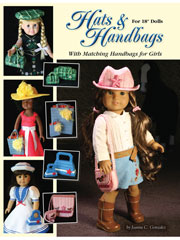 "Hats & Handbags for 18"" Dolls"