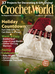 Crochet World December 2011