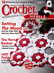 Crochet World February 2007