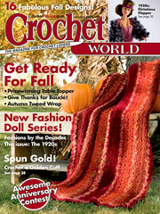 Crochet World October 2007