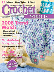Crochet World February 2008
