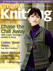 Creative Knitting September 2008