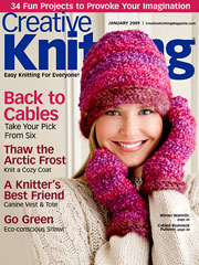 Creative Knitting January 2009