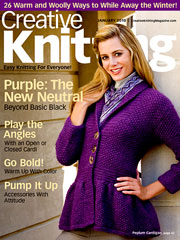 Creative Knitting January 2010