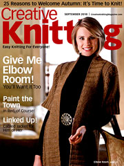Creative Knitting September 2010