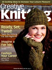 Creative Knitting November 2010