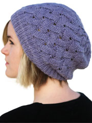 QL Slouch Hat Knit Pattern