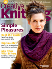 Creative Knitting January 2012