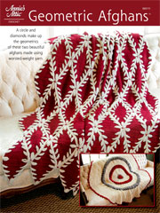 Geometric Afghans Crochet Pattern