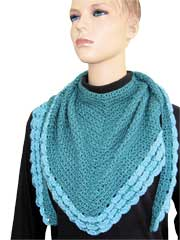 Moonlight Bay Shawlette Crochet Pattern