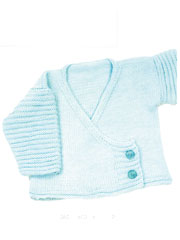 Baby Cardigan Wrap Knit Pattern