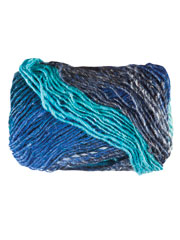Noro Silk Garden Yarn in Blues, Teals, Bark, Raspberry