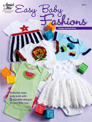 Easy Baby Fashions Crochet Pattern