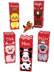 Farm Buddy Mix/Match Blocks