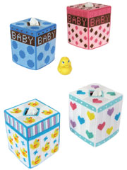 Trendy Baby Tissue Toppers Plastic Canvas Pattern Pack