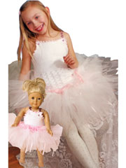 Tutu for Dolly and Me Crochet Pattern