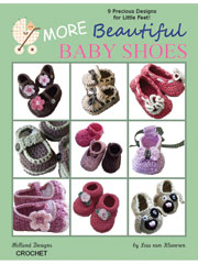 More Beautiful Baby Shoes Crochet Pattern