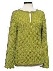 Wave Lace Tunic Knit Pattern