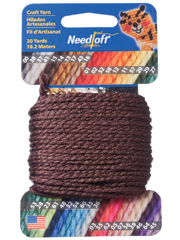 Needloft 20yd Brown
