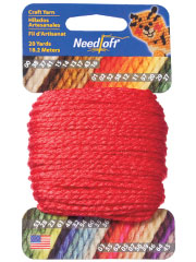 Needloft 20yd Christmas Red