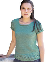 Kelp Tee Knit Pattern