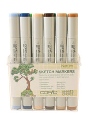 Nature 12 pc Sketch Set