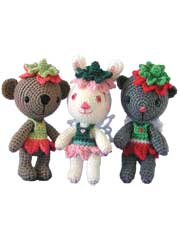 Amigurumi Flower Fairies